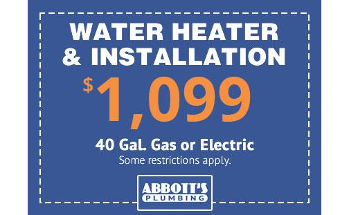 water heaters installation